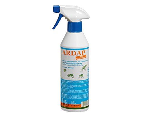 ARDAP Zerstäuber / Wirkungsvolles Insektizid gegen Fliegen, Schädlinge oder Lästlinge / Pumpspray für Zuhause oder in unmittelbarer Nähe von Tieren / 1 x 500 ml