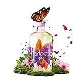 Mariposa Gin – Gin Inspired by Nature - Fruchtiger Gin mit Wacholder & Erdbeeren, Himbeeren & vielen weiteren Fruchtnoten