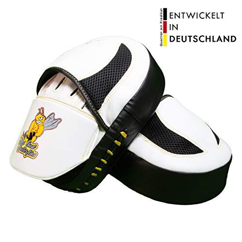 Bees and Butterflies Boxing Pads, Box und Kampfsport Pratzen, MMA Handpratzen Boxpratzen für professionelles Boxtraining, Focus Pads