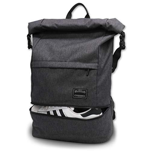 ITSHINY Sporttasche für männer Frauen, Umhängetasche für das Fitnessstudio, Reiserucksack,Gym Bag 3 in 1 Design mit Schuhfach, Gym Tasche wasserdicht und leicht