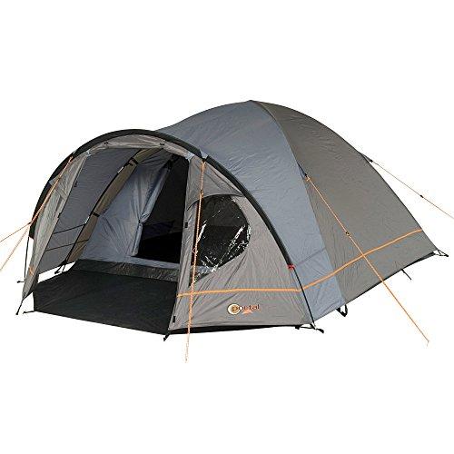 Portal Camping-Zelt Zeta 3 Kuppelzelt mit Schlafkabine für 3 Personen Outdoor Familienzelt mit Vorraum, Dauerbelüftung, Bodenplane, wasserdicht mit 4000mm Wassersäule