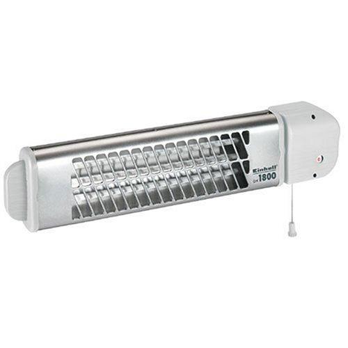Einhell Heizstrahler QH 1800 (1800 Watt, 4 Schalt- und Leistungsstufen, Zugschalter, schwenkbar, geräuschlos)