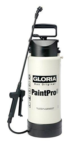 GLORIA Drucksprüher PaintPro 5,  5L, Ölfest für Grundierungen, Farben, Lacke auf Wasserbasis