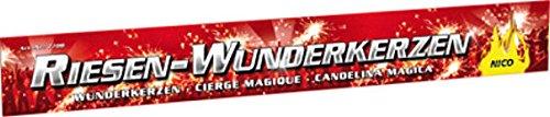 60 XXL Riesen Wunderkerzen Nico Feuerwerk a 45cm ca. je 90 Sekunden Brenndauer