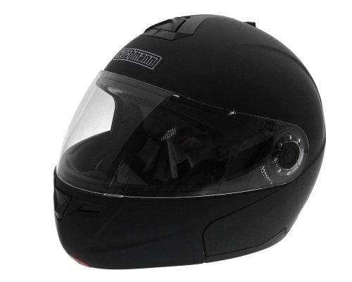 Klapphelm / Motorradhelm WACHMANN WA-50 Victor schwarz matt - Größe L