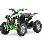 Hecht 51060 Elektro Kinder-Quad Kinderfahrzeug ( 1060 W, 36V, bis 35 km/h, Scheibenbremsen, LED-Licht, AHK )