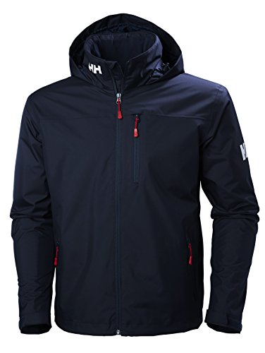 Helly Hansen Herren Crew Hooded Midlayer Jacket Jacke, Navy, XL