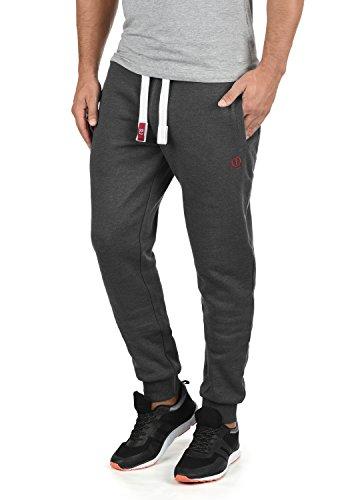 !Solid BennPant Herren Sweatpants Jogginghose Sporthose mit Fleece-Innenseite und Kordel Regular Fit, Größe:M, Farbe:Med Grey (8254)