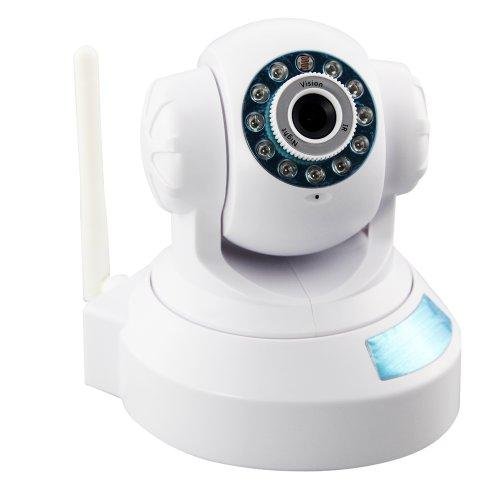 IP Kamera Wlan WiFi Pan Tilt IR-Cut Nachtsicht Zwei-Wege Audio PC und Mobiltelefonen Kompatibel Wireless Überwachungskamera