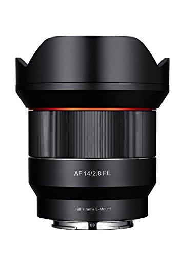 Samyang AF 14mm F2.8 Sony FE - Autofokus Ultraweitwinkel Objektiv mit 14 mm Festbrennweite für spiegellose Sony Vollformat und APS-C Kameras mit Sony E Mount, Metallgehäuse, Ø Objektiv 86mm