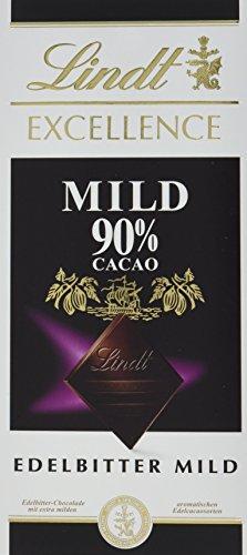 Lindt & Sprüngli Excellence Mild 90 %, 5er Pack (5x 100 g)
