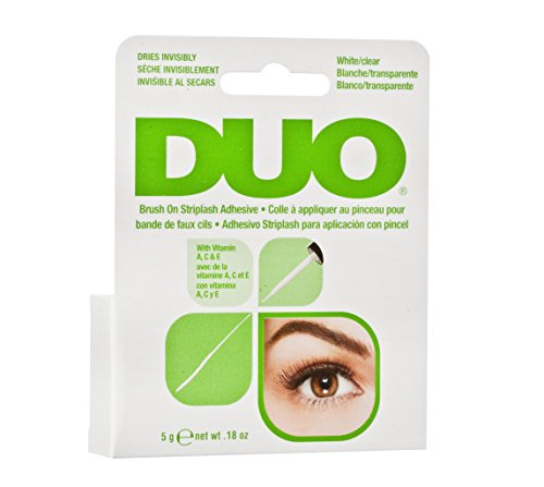Ardell Duo Brush on Adhesive with Vitamins, das Original, 1er Pack (1 x 5g / 0.18 oz)
