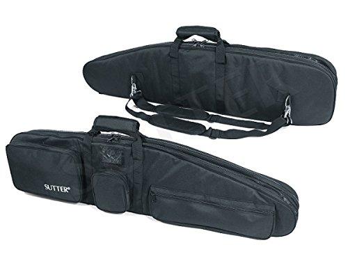 PREMIUM Doppel-Waffentasche 125x37cm - Gewehrtasche für zwei Langwaffen mit Optiken Gewehrkoffer