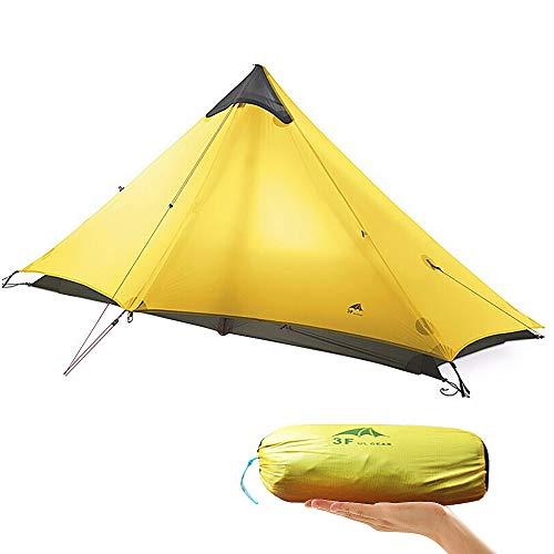 KIKILIVE Neues ultraleichtes LanShan-Campingzelt für den Außenbereich,1Person / 2 Personen Zeltunterstand perfekt für Camping,Rucksacktourismus und Wanderungen