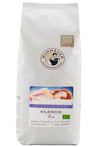 SILENCIO - Entkoffeinierter Kaffee - Arabica - CO²-Entkoffeinierung ( 250 Gramm - gemahlen)