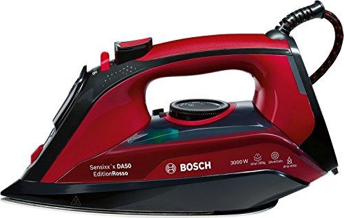 Bosch TDA503001P Dampfbügeleisen (3.000 Watt, 200g Dampfstoß, 3fach-Reinigungsfunktion)
