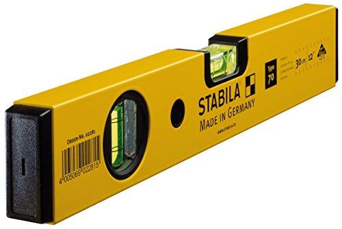 Stabila Messgeräte 02281 Wasserwaage 70 / 30 cm