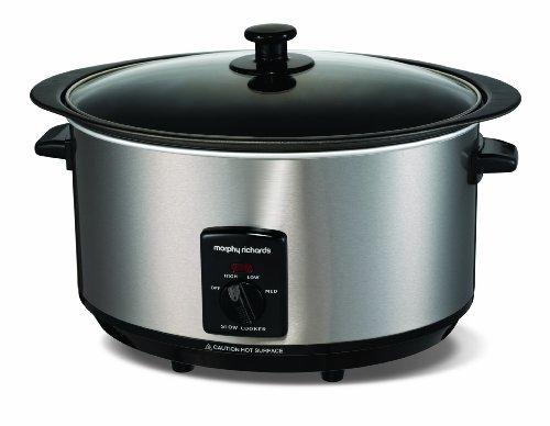 Morphy Richards 48705 Sear & Stew Slow Cooker 6,5 Liter