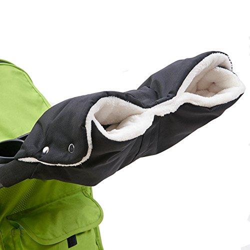 Kinderwagen Muff Handwärmer Wasserdicht Baby Stroller Hand muff Mit Fleece Winddicht Radanhänger für Winter