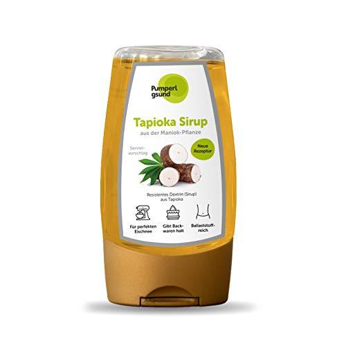 Tapioka-Sirup   Zuckeralternative zum Backen & für den Eiweiß-Fluff  Low Carb   Pumperlgsund (Eine Flasche)