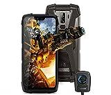 Blackview BV9700 Pro (Nachtsicht Kamera) 4G Outdoor Handy Ohne Vertrag - 5,84 Zoll FHD + IP68 wasserdichtes Robust Smartphone, Helio P70 6 GB + 128 GB Android 9.0, Luftqualität und Pulsmesser GPS NFC