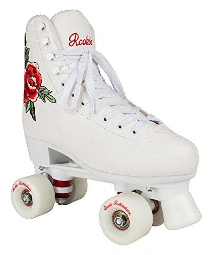 Rookie Rollerskate Pink Skate, Damen 38 weiß