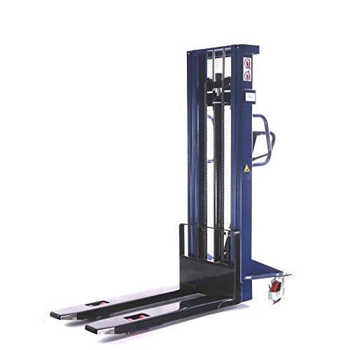 Hochhubwagen Handstapler Tragkraft 1,0t / 1000kg Hub 3,0m / 3000mm