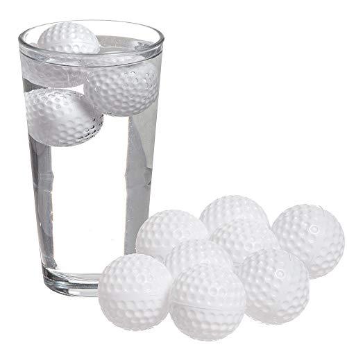 Golfball Eiswürfelformen im 12er Set - Golfbälle Eiswürfelbereiter Eiswürfelformer Eiswürfelschale