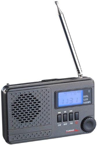 auvisio Digitale Weltempfänger: Weltempfänger WWR-100.mp3 mit DSP-Rauschunterdrückung & MP3 (Digitales Radio)