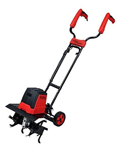 IKRA Elektro Bodenhacke Kultivator EM 1200, Arbeitsbreite 40cm, Arbeitstiefe bis zu 20cm, 1200 W, ergonomisch und klappbar