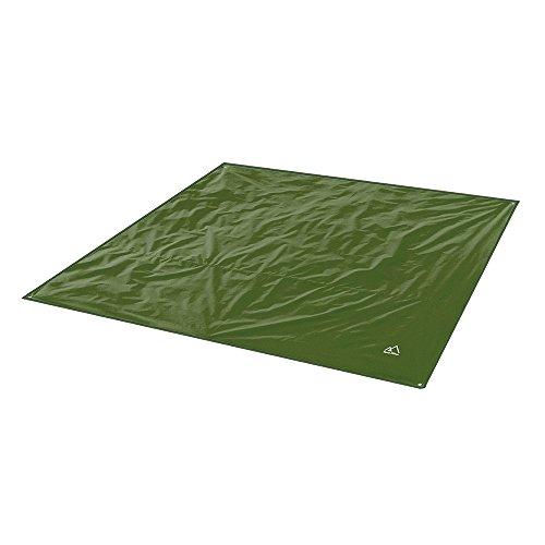 Terra Hiker Camping Zelt Tarp, Outdoor Plane, Wasserdicht Zeltplane mit Tragetasche (Dunkelgrün S: 150 cm x 220 cm)