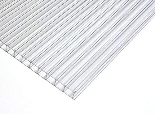 Stegplatte 4 mm KLAR für Terrasse | Carport. Breite: 920 mm x Hohe: 1000 mm - 1 Stuck