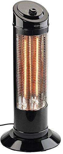 Sichler Haushaltsgeräte Heizstrahler: Infrarot-Heizstrahlersäule mit Oszillation, 600 / 1.200 Watt (Heizsäule)