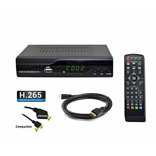 DVB-T  DVB-T2 Receiver Digital Strom 505 Full HD DVB -Tv T2 Receiver Für Digitales Fernsehen /HDTV, DVB T2, HDMI, Scart, Mediaplayer, USB 2.0, 1080p/ /Automatische İnstallation/