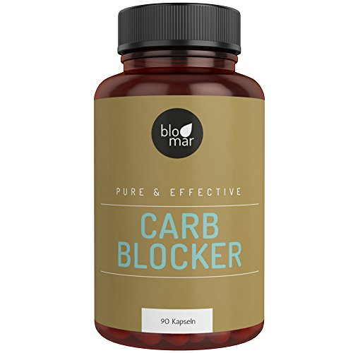 Carb Blocker | Fat Burner - effektiver und natürlicher Kohlenhydratblocker - 1-Monatskur - 90 Kapseln á 700mg F-BRN