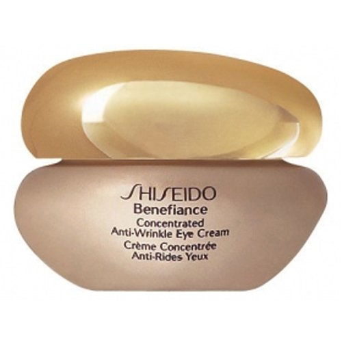 Shiseido Benefiance Concentrated Anti-Wrinkle Augencreme unisex, 15 ml, 1er Pack (1 x 15 ml)