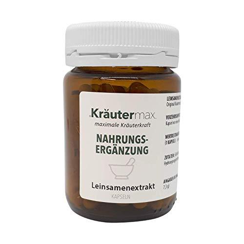 Leinsamen-Kapseln 1 x 90 Stk. - Leinsamen-Glutenfrei - Lignane-Kapseln