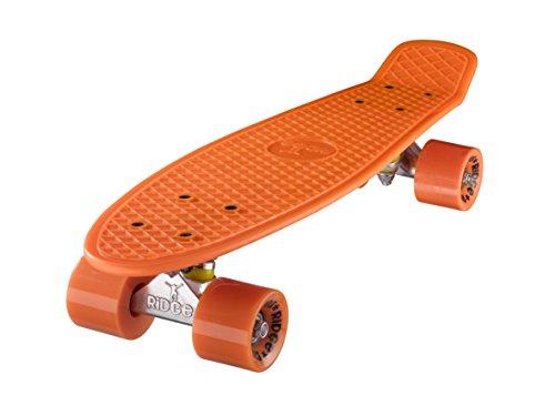Ridge 55 cm Mini Cruiser Retro Stil in M Rollen Komplett U Fertig Montiert Skateboard