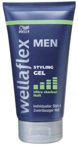 Wellaflex men Gel ultra starker Halt, 6er Pack (6 x 150 ml)