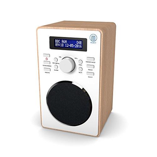 Barton II DAB/DAB+ Digital FM UKW Radio, Dualer Radiowecker, Sleep und Schlummer-Funktion