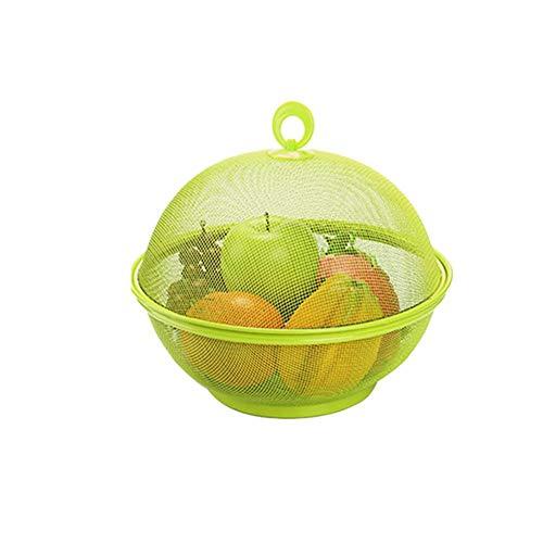 Obstkorb Mit Insektenschutz - Obstkorb,Süße Apfelform, Die Fliegende Insekten Effektiv Abwehrt Und Zum Aufbewahren Von Obstgeschirr Geeignet Ist, 27 24 Cm