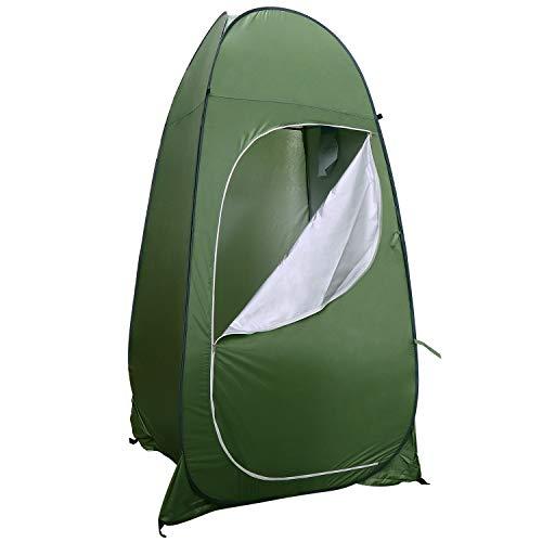 KEESIN Pop Up Camping Toilette Zelt, Dusche Privacy Raumzelt für Outdoor Umkleiden Dressing Baden