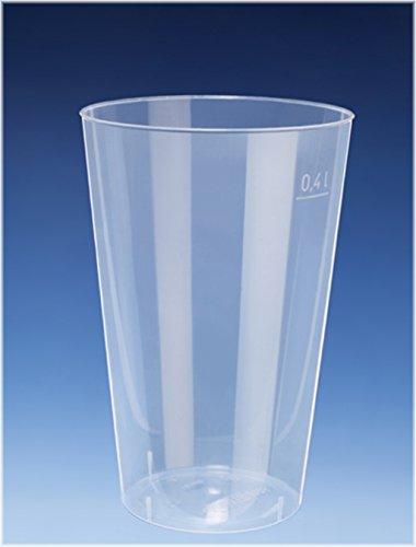 50x 400ml Cocktail Becher / Trinkbecher aus PP / nahezu unkaputtbar / alt. Zu Mehrweg / Mehrwegbecher - Exklusives Angebot der Marke EVENTpac