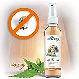 Ida Plus - Zeckenfrei 200 ml - Zeckenspray gegen Zecken, Mücken, Flöhe, Grasmilben & Parasiten - Zeckenmittel für Hunde - Anti Zecken Insektenspray mit Margosa & Nelken-öl für besten Insektenschutz