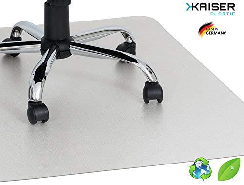 KAISER PLASTIC ECO Bodenschutzmatte | 75 x 120 cm | Hartboden | Made-In-Germany