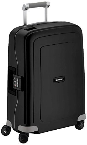 Samsonite S'Cure Spinner 55/20 Koffer, 55cm, 34 L, Black