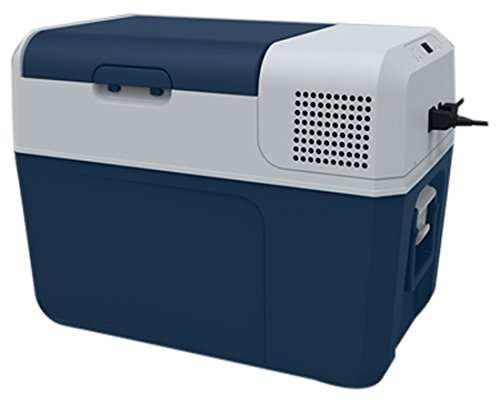 MOBICOOL FR40 AC/DC Kompressor-Kühlbox für Normal- und Tiefkühlung, 38 Liter, Anschlussfertig für Auto, LKW und Steckdose, A+