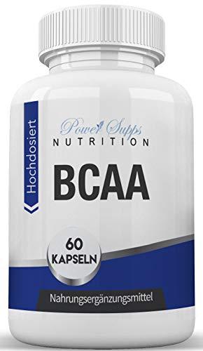 BCAA 8:1:1 - Aminosäuren - - Muskelaufbau - Hochdosiert - Hergestellt in Deutschland Power Supps