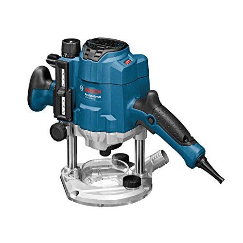 Bosch Professional GOF 1250 CE, 1.250 W Nennaufnahmeleistung, 10.000 - 24.000 min-1 Leerlaufdrehzahl, Kopierhülse 17 mm, L-BOXX, Parallelanschlag