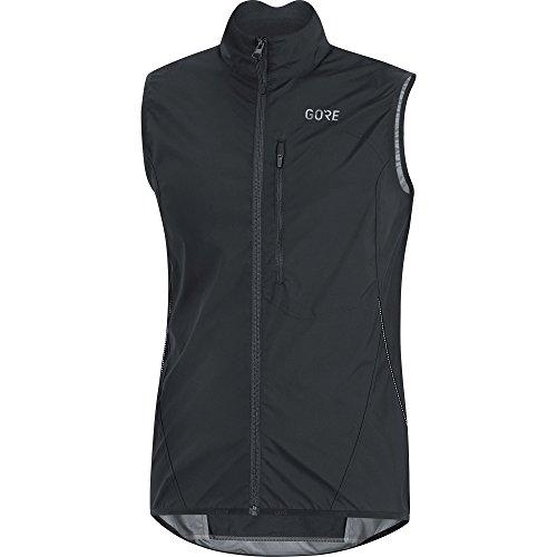 Gore Wear Herren Winddichte Fahrrad-Weste, GORE C3 GORE WINDSTOPPER Light Vest, Größe: XXL, Farbe: Schwarz, 100039